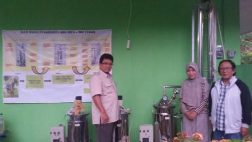 The Utilization of Bioethanol Processing Machine from FPRDC in Forest Management Unit (FMU) Boalemo, Gorontalo Province.