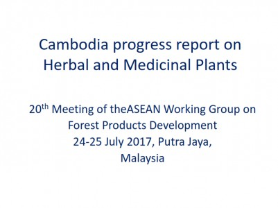 Cambodia Progress Report on HMP
