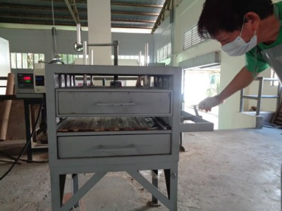 DOST-FPRDI develops hot press for engineered bamboo