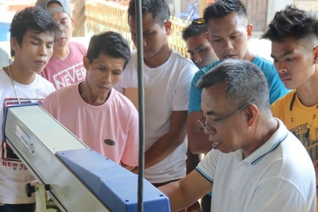 DOST-FPRDI trains woodworking machine operators in Zamboanga Sibugay