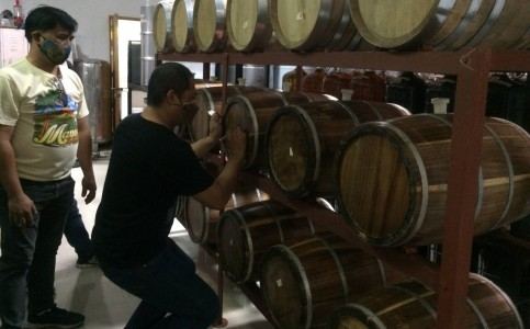 DOST-FPRDI PILOTS IMPROVED BARRELS FOR FRUIT WINES